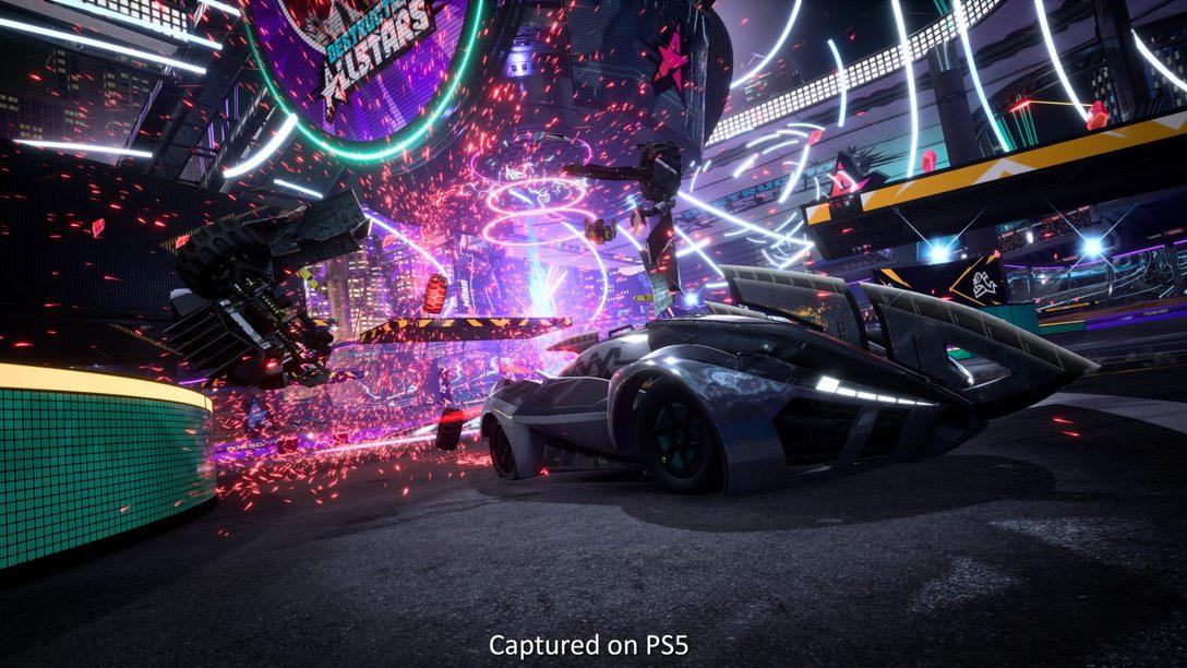 Entrevista Destruction AllStars: la tecnología de PS5 que ha dado vida al juego de peleas de coches