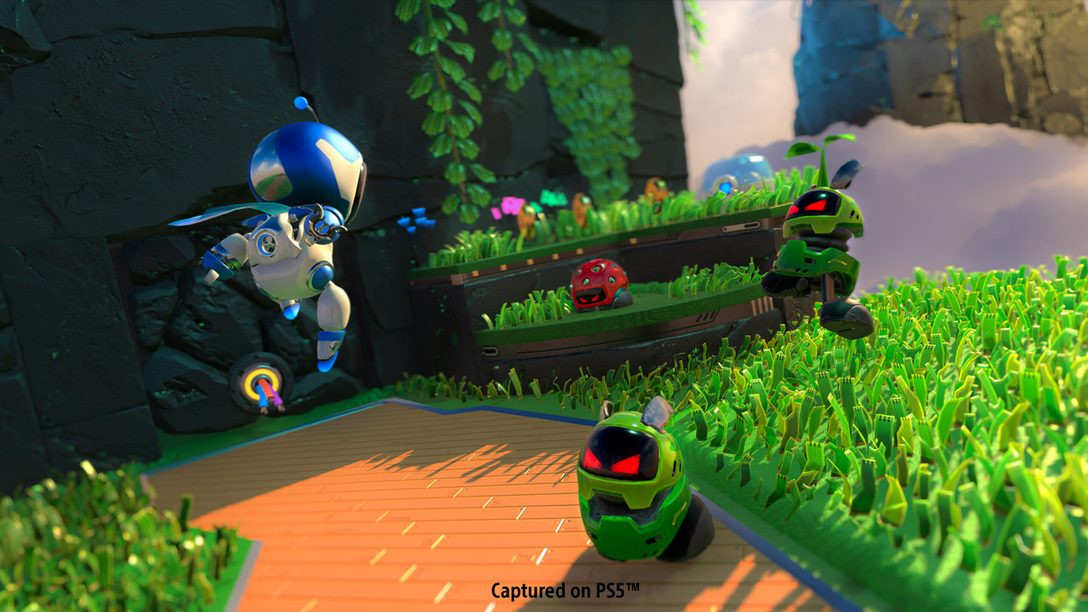 Soy tu GPU: descubre cómo se crearon los temas de estilo electropop de Astro's Playroom