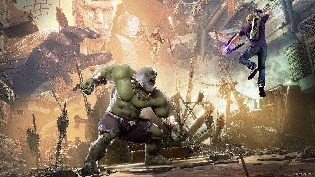 Nuevos detalles sobre las mejoras en PS5 de Marvel's Avengers, Pantera Negra y mucho más