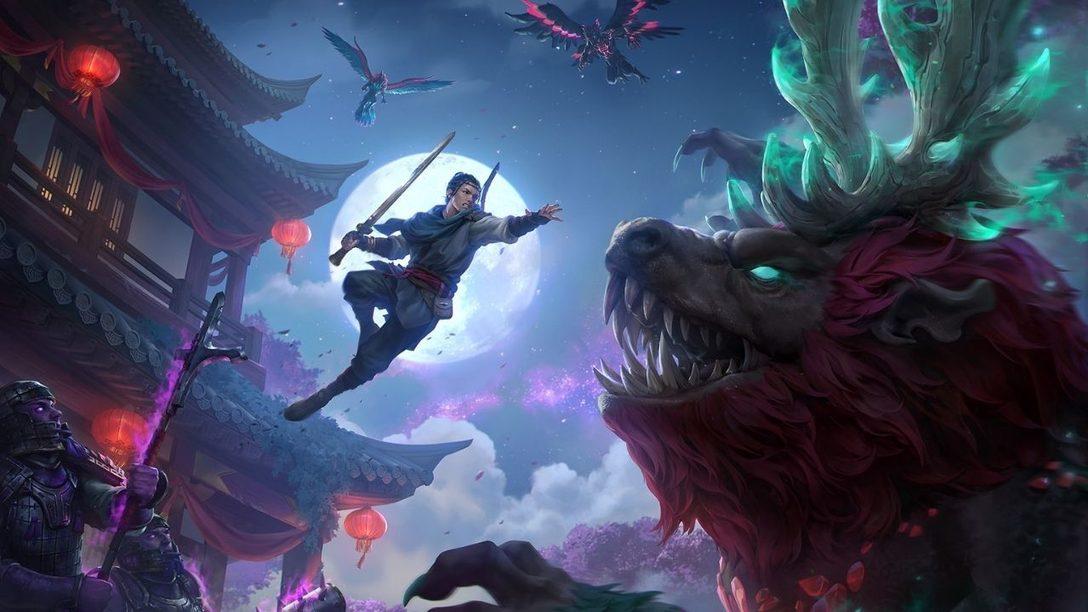 Immortals Fenyx Rising: Mitos del Reino del Este llega hoy a PS4 y PS5