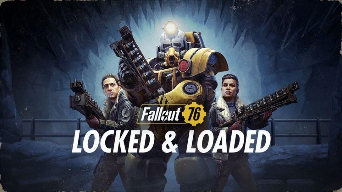 Cuélate entre los bastidores de Cargado y a punto, la nueva actualización de Fallout 76