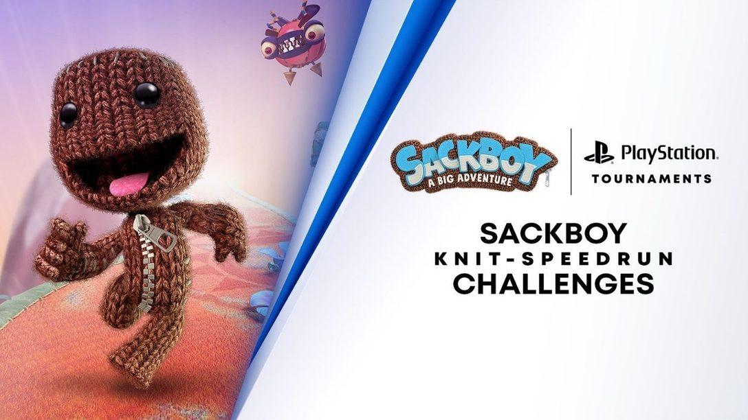 Poned a prueba vuestras habilidades en el nuevo desafío de la puntada de velocidad de Sackboy Una aventura a lo grande