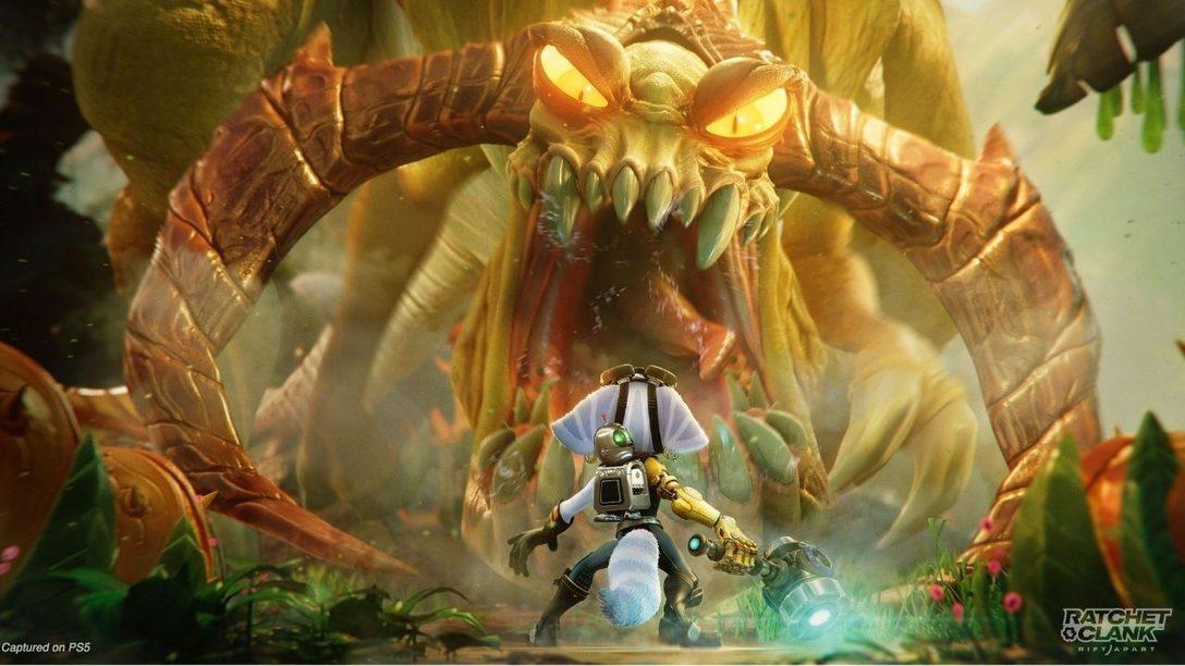 15 minutos de mecánicas de juego de Ratchet & Clank: Una dimensión aparte