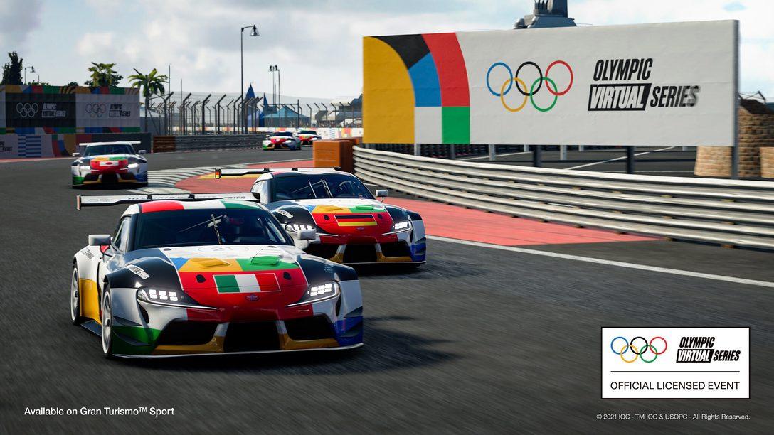 El primer Evento Olympic Virtual Series – Deportes de Motor se emitirá el 23 de junio
