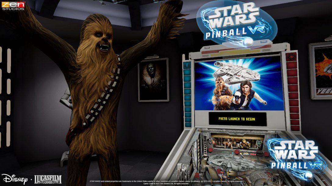 Las aventuras de Han Solo adaptadas en el nuevo tablero para Star Wars Pinball VR