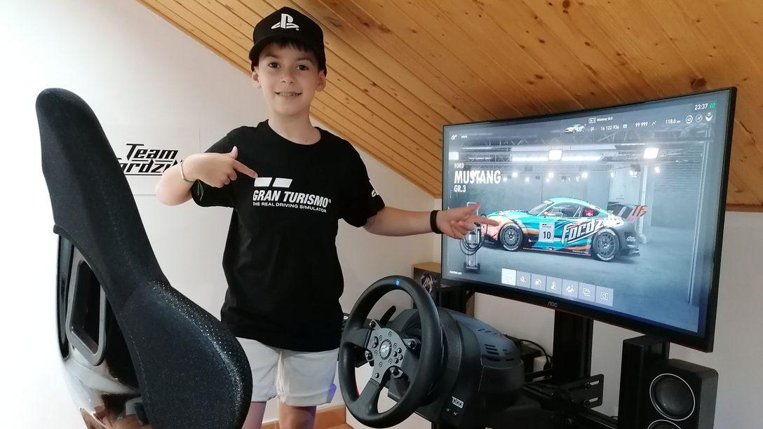 Abel Torres da el salto de los videojuegos al campeonato de España de karting de la mano de PlayStation