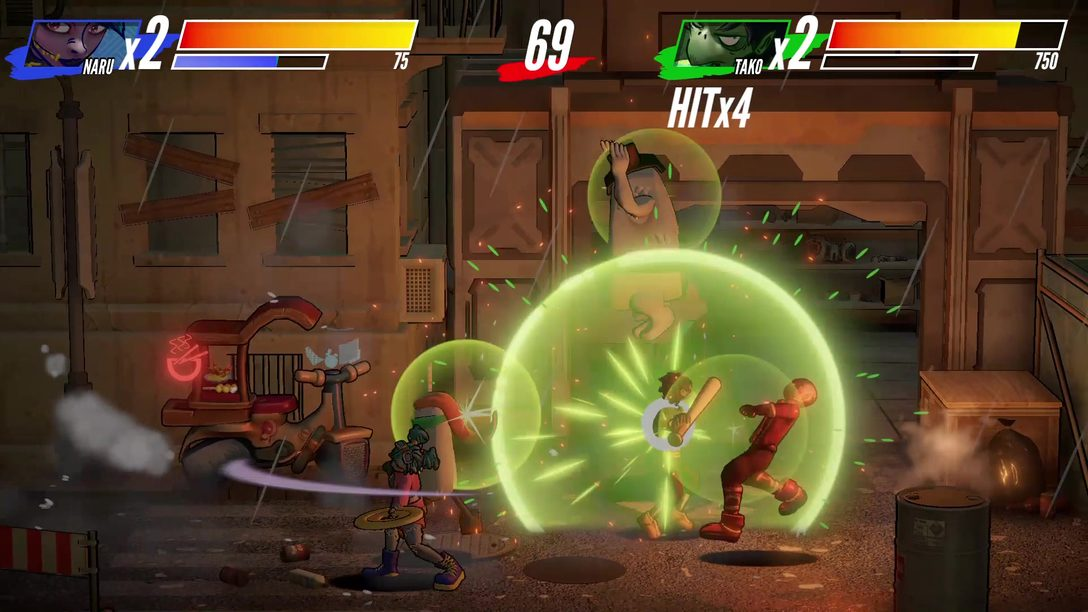 Lucha contra tu comida en Itadaki Smash | Ya a la venta en PS4
