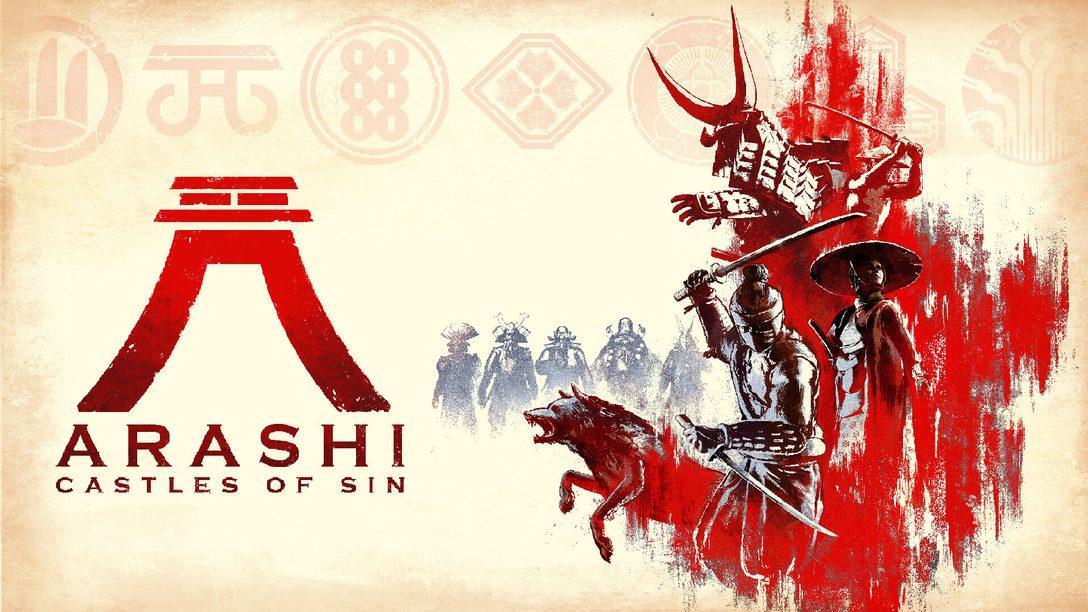 Conviértete en un ninja en el título de acción y sigilo en mundo abierto Arashi: Castles of Sin