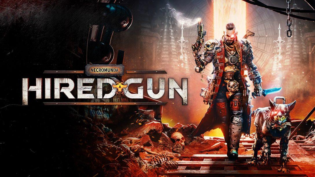 El mejor amigo del hombre te ayudará en Necromunda: Hired Gun