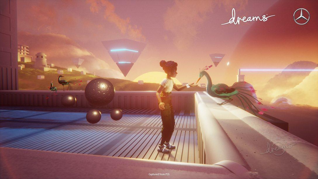 Imagina el futuro con Dreams y Mercedes-Benz