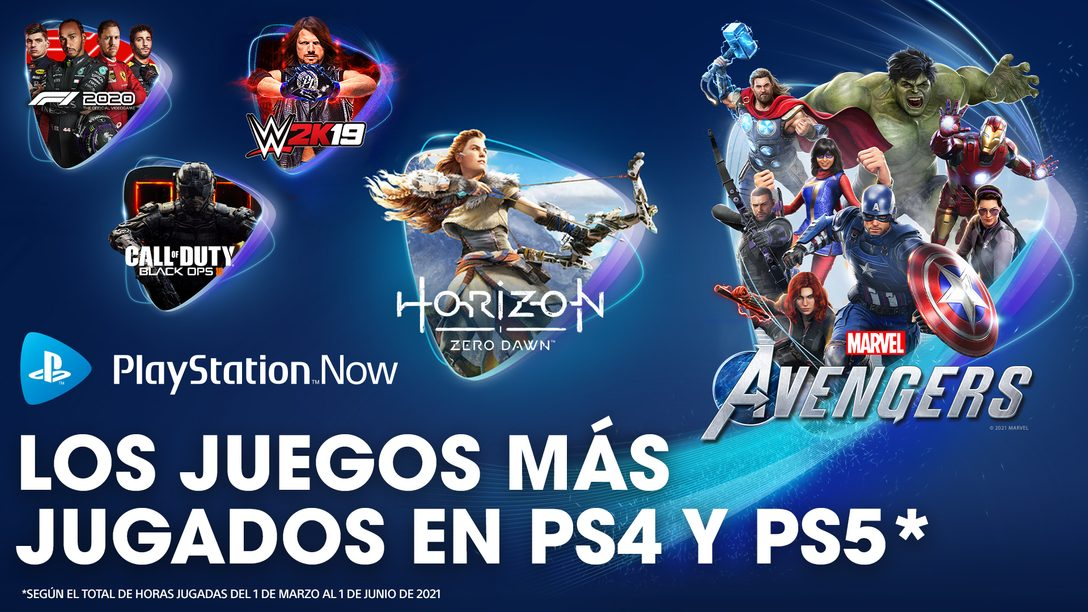 PlayStation Now: los juegos más jugados de la primavera