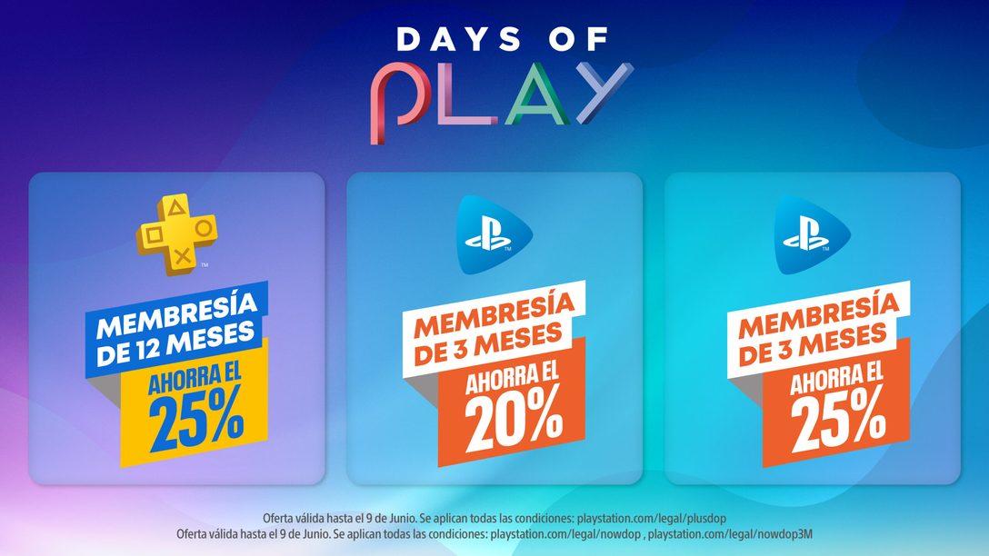 Hoy empiezan las actividades de Days of Play 2021 con la PlayStation Player Celebration   Las rebajas comienzan el 26 de mayo