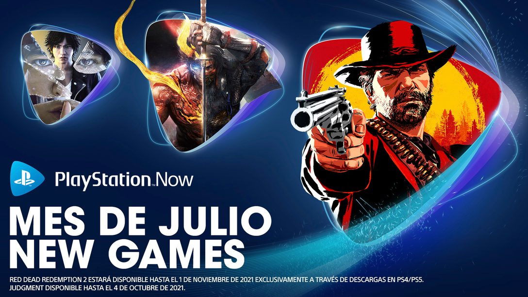 Juegos en PlayStation Now en julio: Red Dead Redemption 2, Nioh 2, Judgment