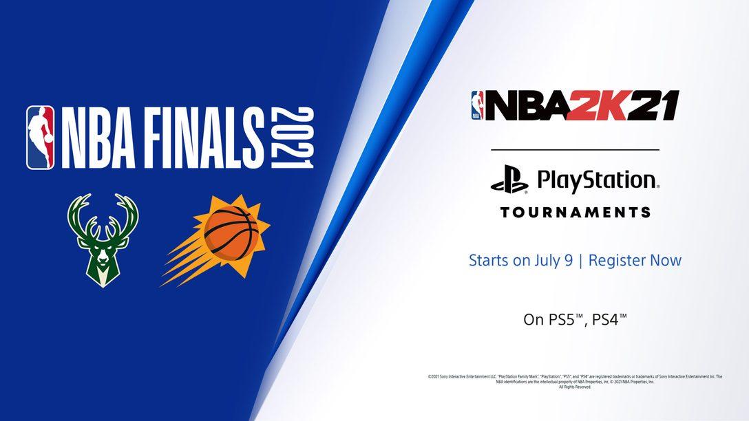 Únete a los torneos de NBA 2K21 en PlayStation: Finales de la NBA