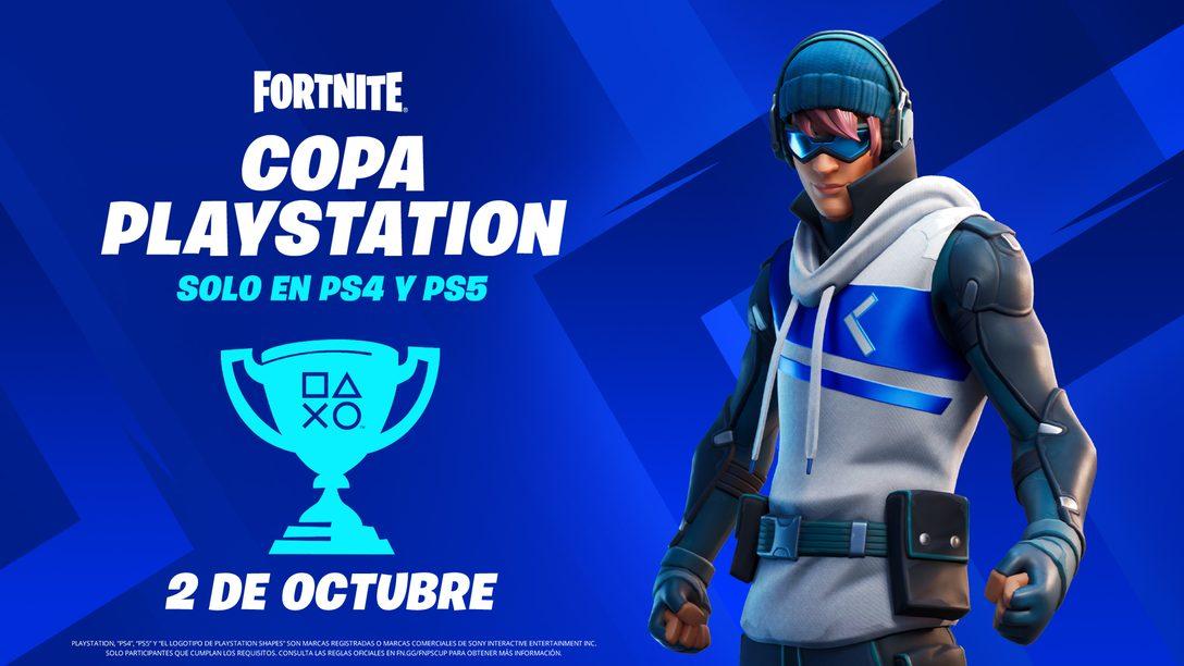 Compite en la Copa PlayStation de Fortnite por una parte del premio global de 110 000 $