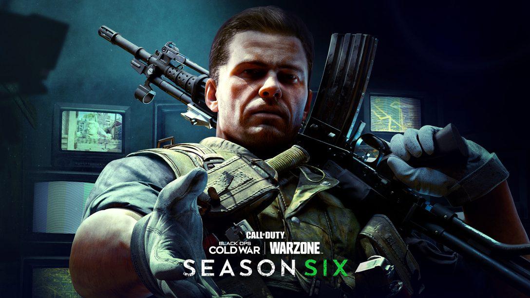 Temporada seis de Call of Duty: Black Ops Cold War y Call of Duty: WarzonelLanzamiento el 7 de octubre