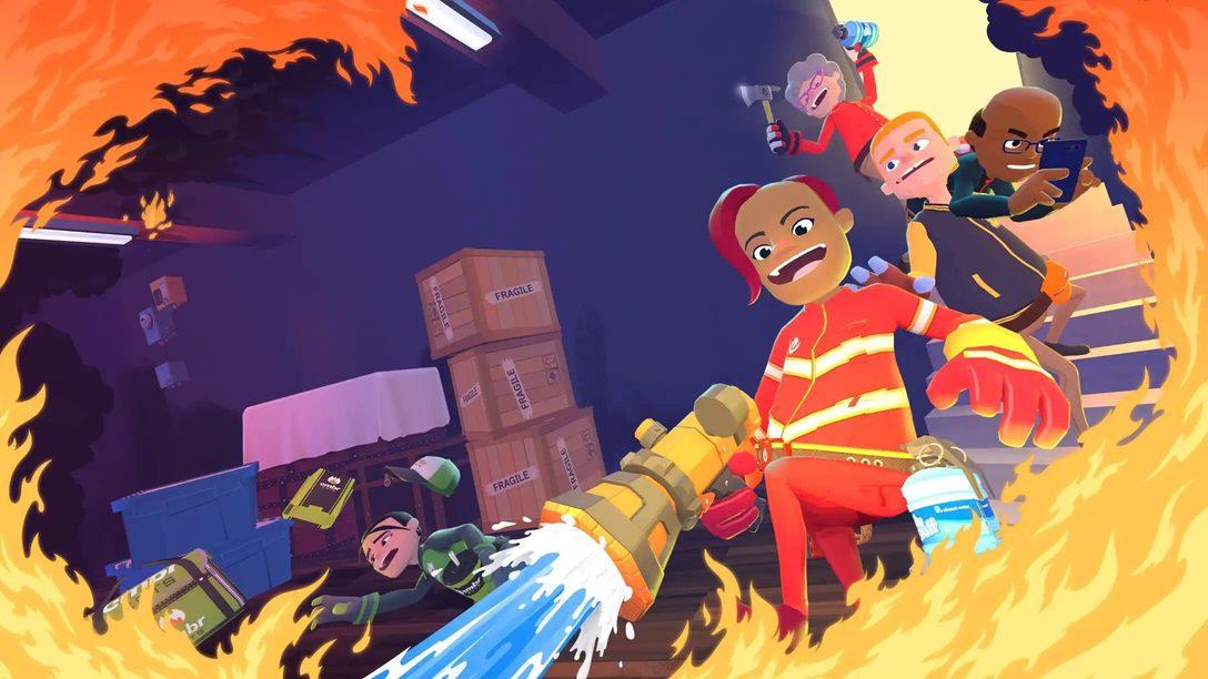 Juega con los bomberos a sueldo en Embr, el juego multijugador disponible a partir de mañana