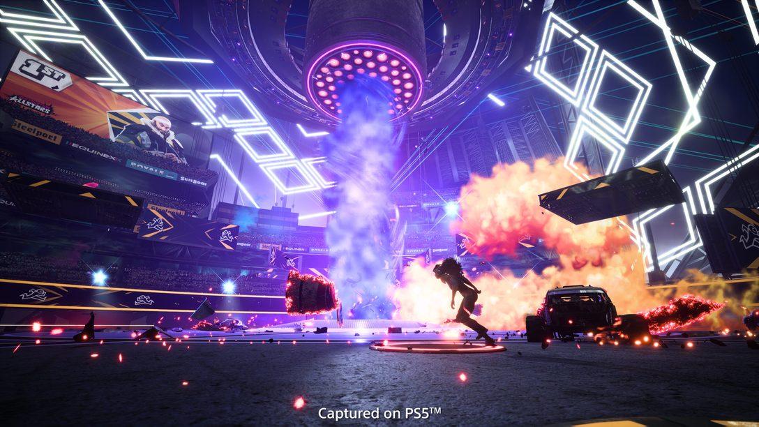 Nuevos modos de juego se dejan caer por Destruction AllStars