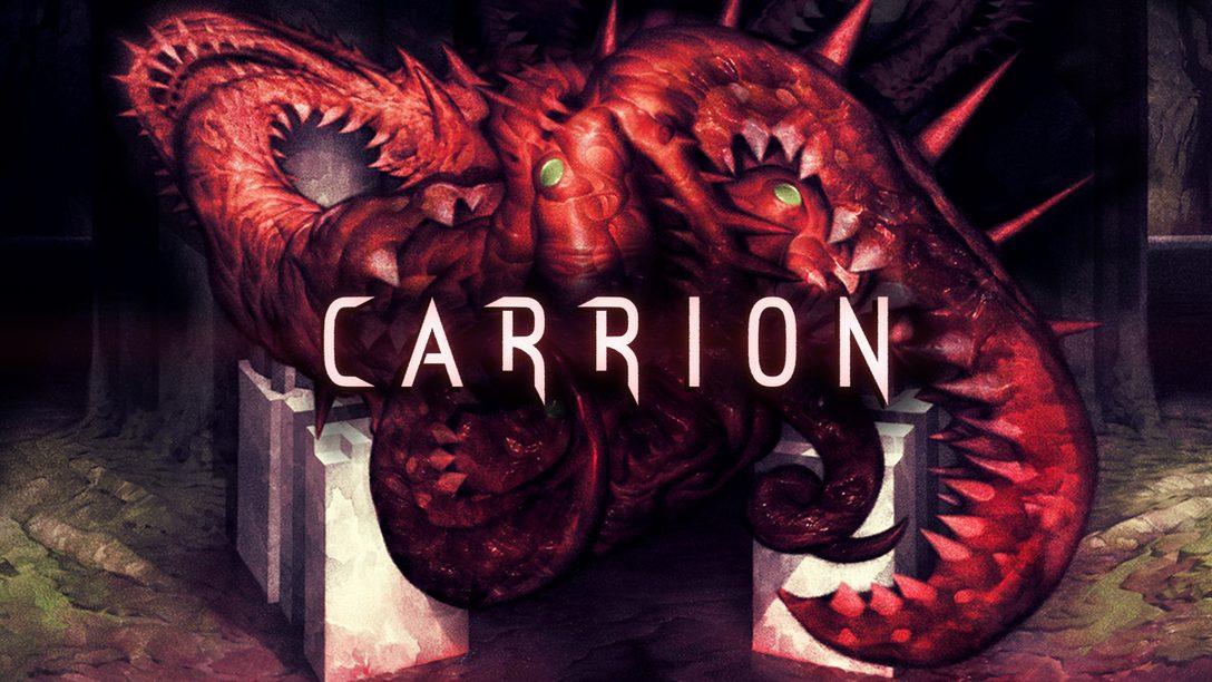 Carrion llega hoy por fin a PlayStation