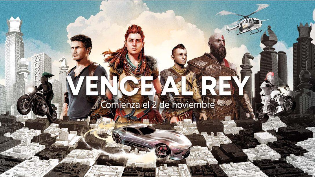 Vence al rey: Únete al último evento de la comunidad de PlayStation y compite para ganar una PS5 y más