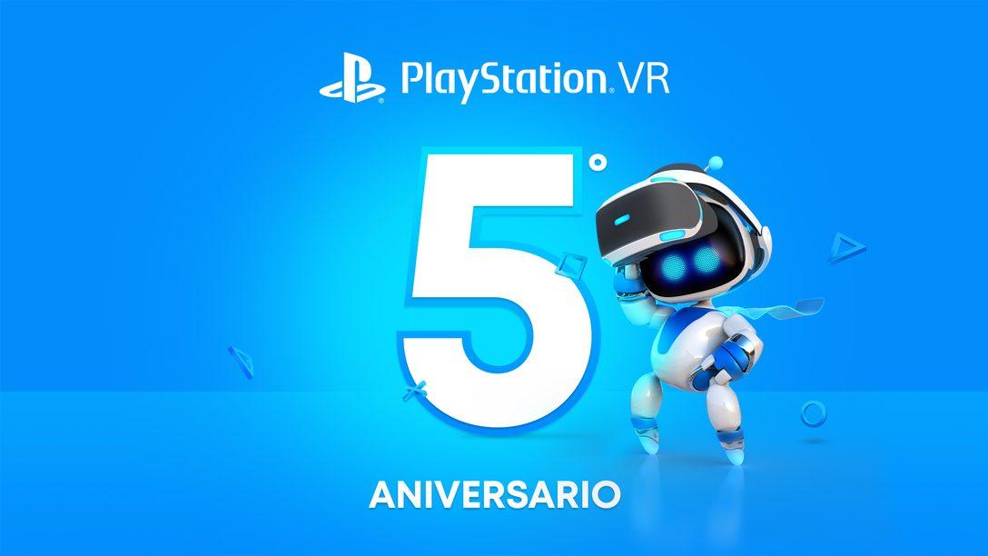¡Celebramos cinco años de PlayStation VR!